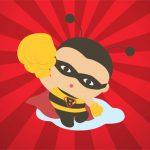 Be a Hero. Help Spread Playful Bee.