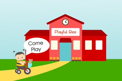 Enroll in Playful Bee's Preschool from Birth Early Learning Program