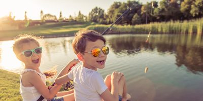 Fishing for Sneakers: Create your own Hand-Eye Coordination Fun