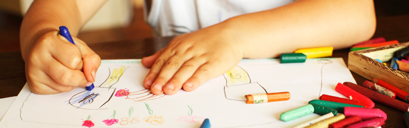 A Budding Artist: your child's Art Is Taking a Shape You Can Recognize}