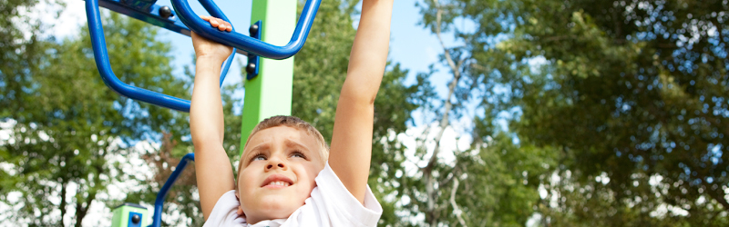 Am I a Kid or a Monkey? Encouraging Your Child's Gross Motor Skills }