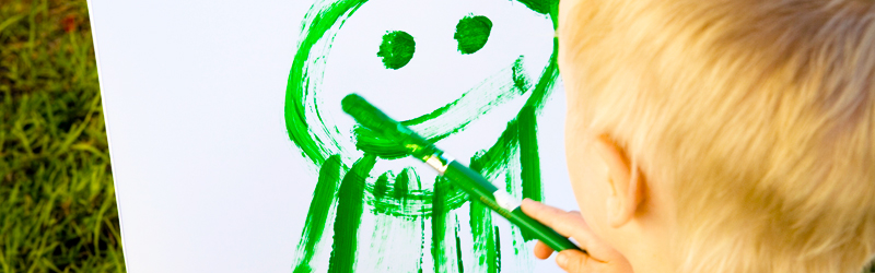 Draw Me a Picture: The Evolution of Your Child's Artwork}