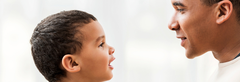 Your Child Using His Words to Speak Clearly}